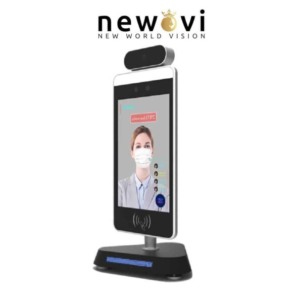 Visionera 8 inch AI Thermal Imaging Body Temperature Measurement with Face Recognition